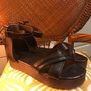 Bed Stu Platform Sandals 🌾